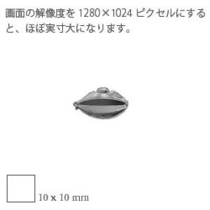 画像2: クリック【 両面 / M 】鏡面[ SV925 / 一連用 ]